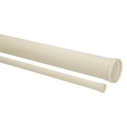 Um tupo de PVC para esgoto da marca Amanco