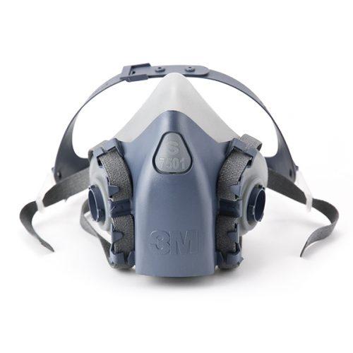 Respirador Série 7500 Meia Peça Facial – 7501 – 7502 – 7503 3M e9bca58698