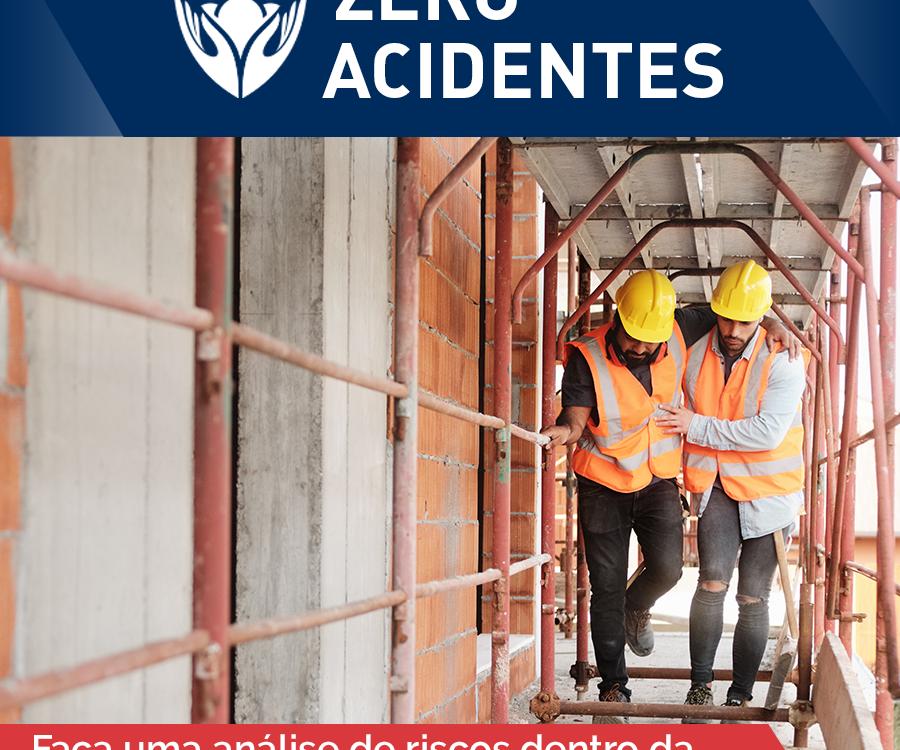f87ed6a4bcc47 Zero Acidentes  saiba como acompanhar os trabalhadores nas atividades  laborais